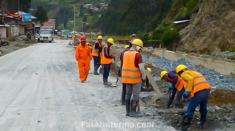 MARSA invierte más de 6 millones en obras en Llacuabamba