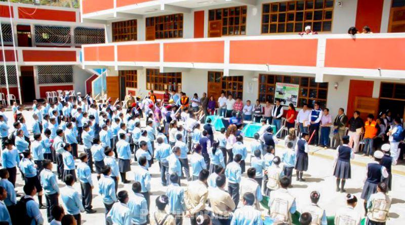 03 colegios más funcionarán como JEC en el 2017
