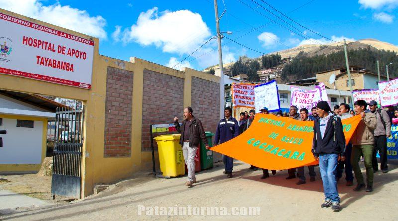 Ordenan a médicos retornar a nosocomios de Pataz y Bolívar
