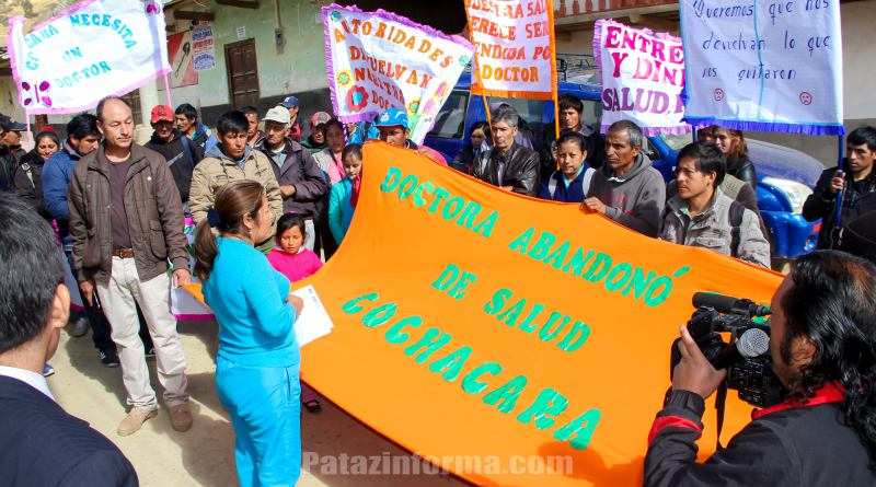 25 profesionales de la salud regresarán a Pataz