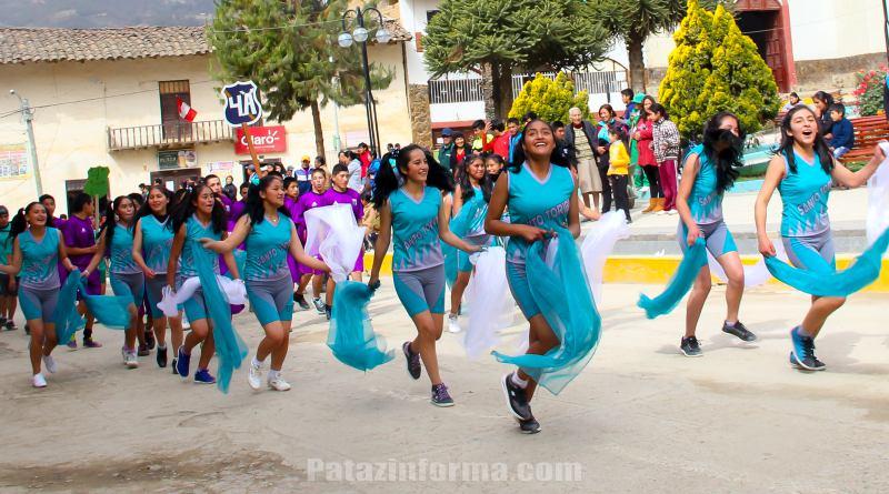 Colegio Santo Toribio inició olimpiadas de aniversario