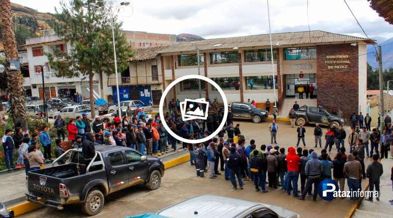 TAYABAMBA   Grupo de Transportistas se oponen a utilizar el Terminal