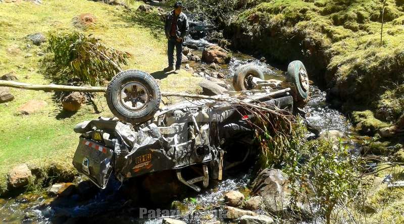 Accidente de tránsito en Ucchapampa deja un muerto