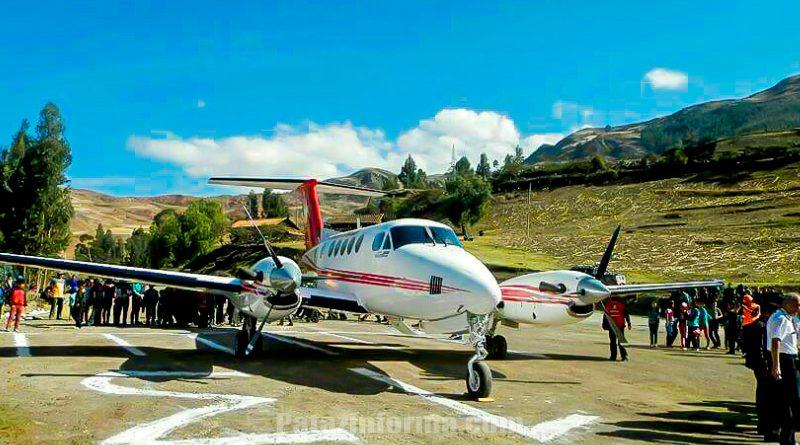 Empresa Vive Perú realiza vuelo de prueba Lima – Urpay