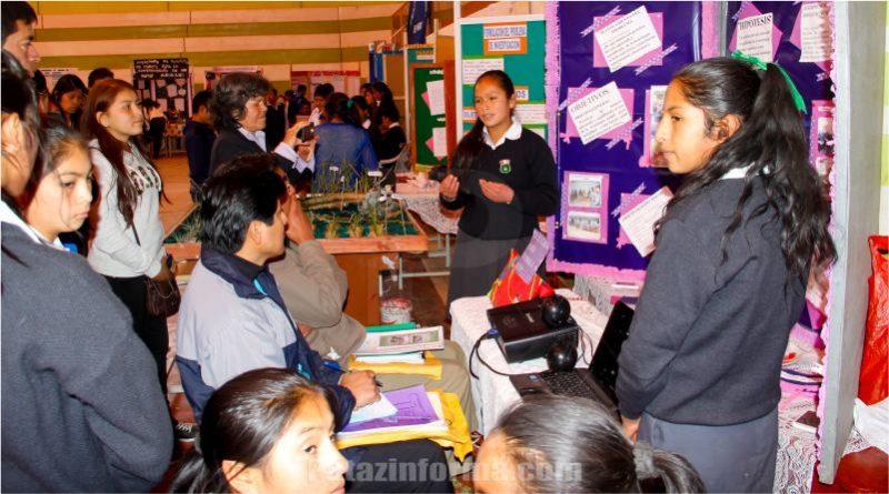 12 proyectos tayabambinos clasificaron a FENCYT provincial