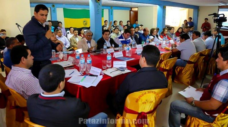 Autoridades se reúnen para tratar problemática patacina