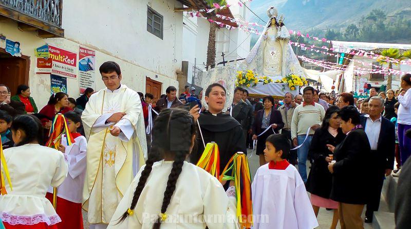 Huancaspata celebró fiesta a la Virgen de la Natividad