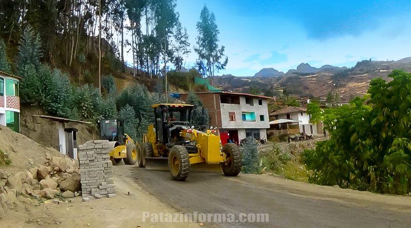 Finaliza mantenimiento de la vía Bella Aurora – Chilia
