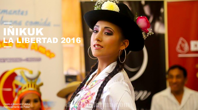 Pataz presente en certamen IÑIKUK La Libertad 2016