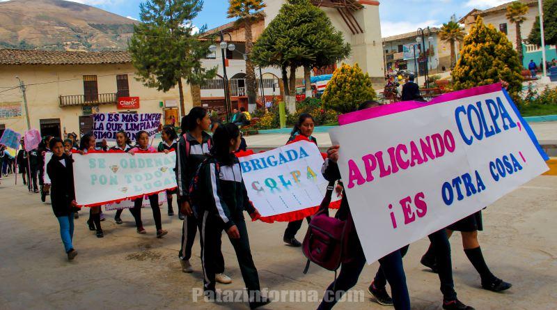 Santo Toribio realizó pasacalle de sensibilización en COLPA