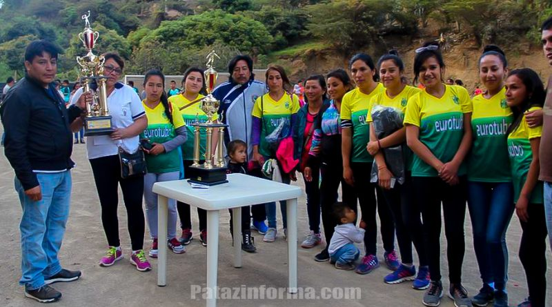 Chungana y Sol del Valle campeones Copa Huaylillas 2016