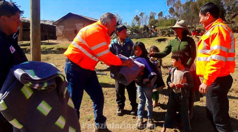 Subgerente de Defensa Civil La Libertad llegó a Tayabamba