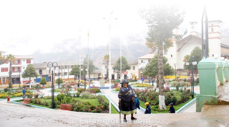 Bajas temperaturas y varias horas de lluvia soportó Tayabamba