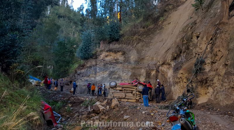 Accidente en Tayabamba deja dos muertos y un herido