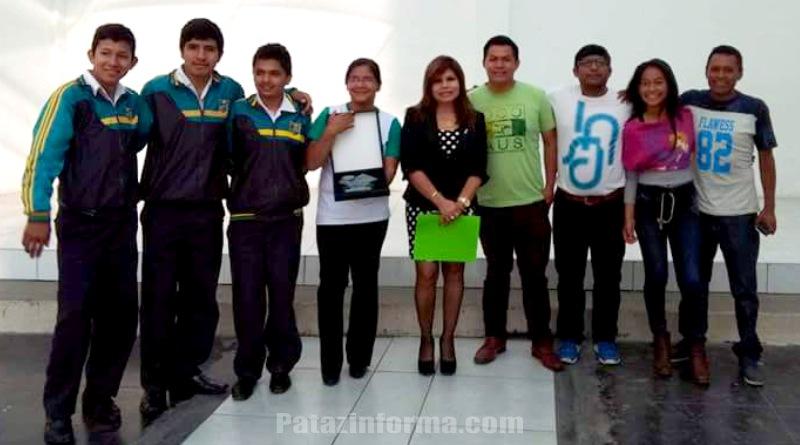 Colegio de Urpay campeón regional en concurso Crea y Emprende
