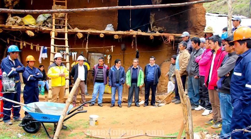 Más de 800 pobladores serán beneficiados con la instalación de biodigestores