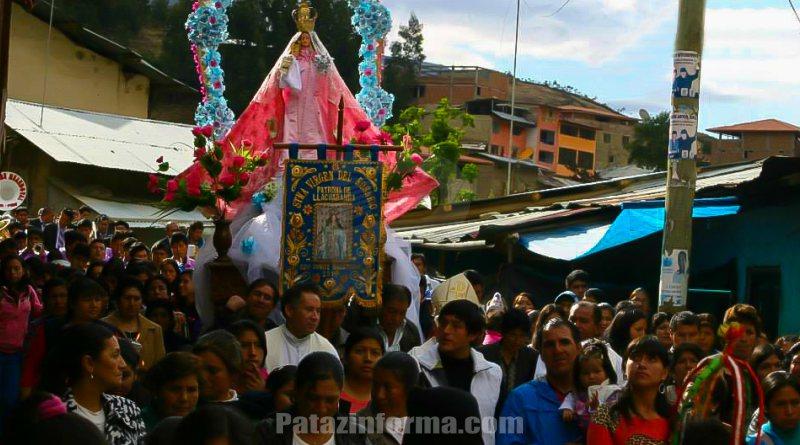Llacuabamba celebrará festividad de la Virgen del Rosario