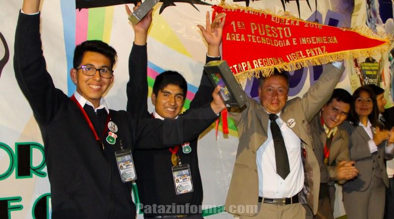 Colegio Santo Toribio campeón regional de la FENCYT 2016