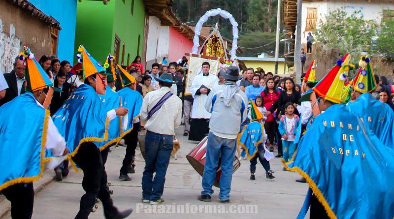 Urpay celebró fiesta a la santísima Virgen del Rosario