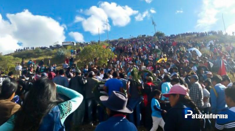 Sepultan a víctima de conflicto entre comuneros de Alpamarca y policías