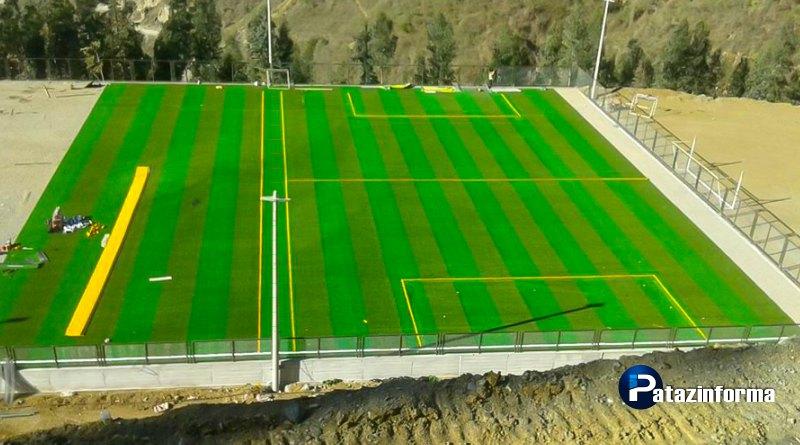 Estadio patacino Nelson Fernández Cueva se inaugurará a finales de noviembre