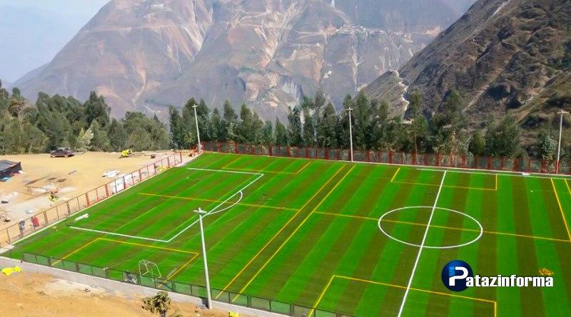 Este 25 de noviembre inaugurarán moderno escenario deportivo en Pataz