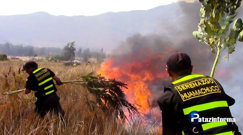 Incendios forestales continúan azotando provincias de la sierra liberteña