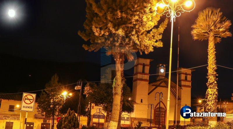 Superluna también se observó en Tayabamba sobre el cerro Pahuarchuco