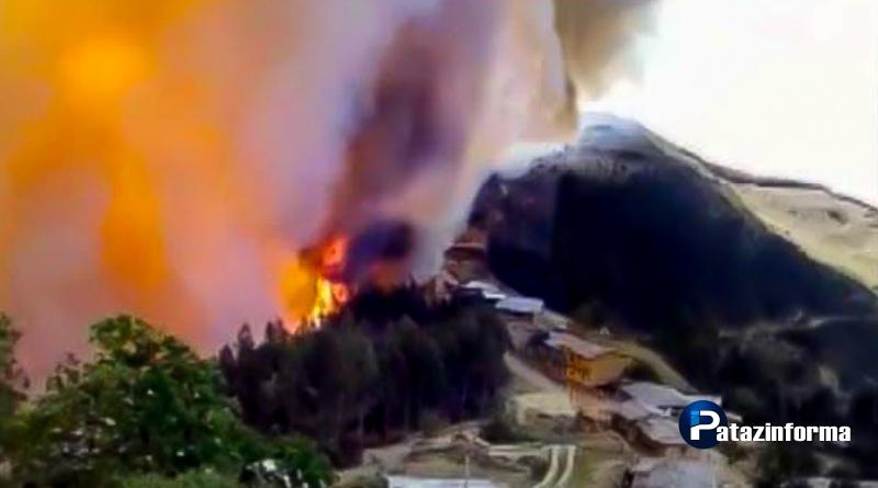 Lanzan campaña de ayuda a damnificados de incendio en la Tranca