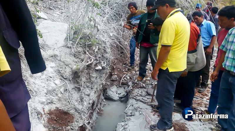 Pobladores de Alpamarca protestan contra Consorcio Minero Horizonte