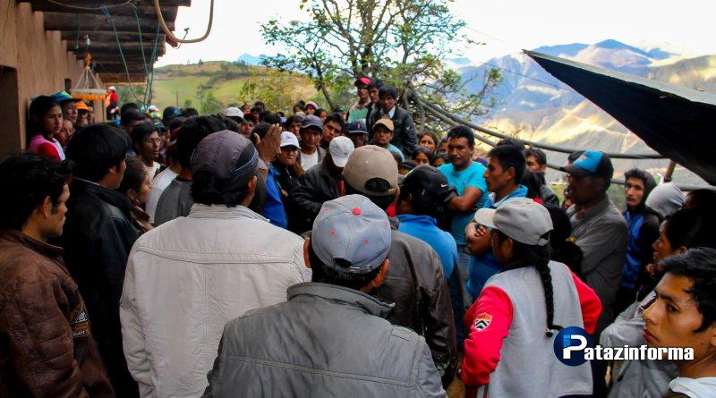 Pobladores de Alpamarca niegan uso de armas en enfrentamiento con policías