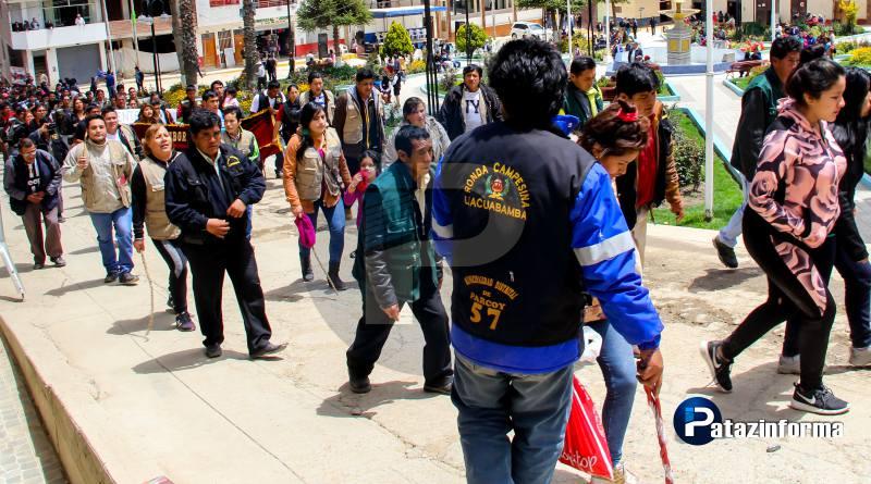 Rondas campesinas se unirán a un paro general contra Consorcio Minero Horizonte