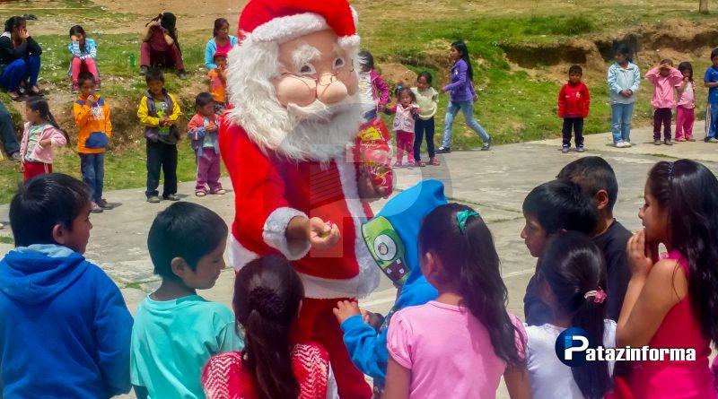 Campañas navideñas llevan alegría y esperanza a niños de Pataz y Parcoy