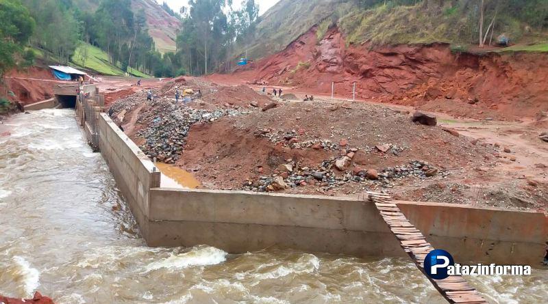 Desmienten nuevo desplome de muro en la obra deportiva de Huarichaca