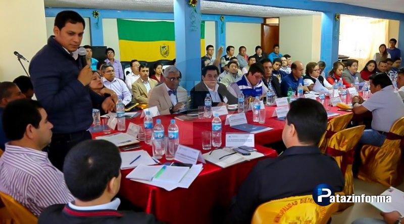 Gobernador regional Luis Valdez niega abandono a la provincia de Pataz