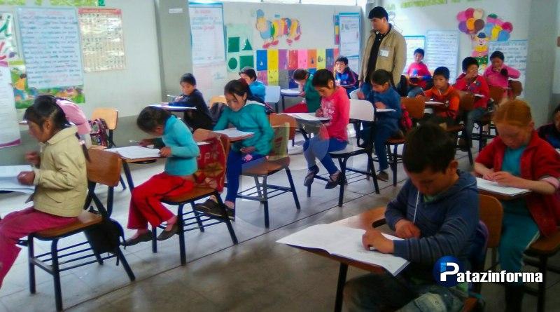 En la provincia de Pataz más de 6 mil estudiantes participaron de la ECE