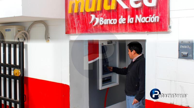 UNA REALIDAD, Cajero Automático inició funcionamiento en Tayabamba
