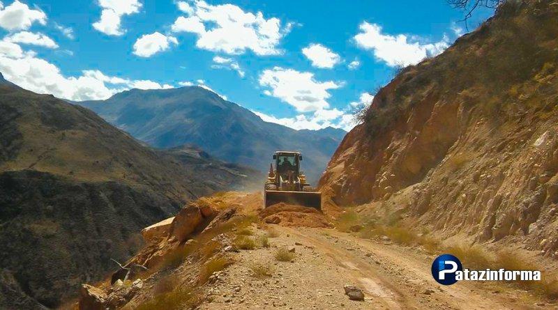 Cerca de 100 km de carreteras fueron mejoradas por el GRLL en Pataz