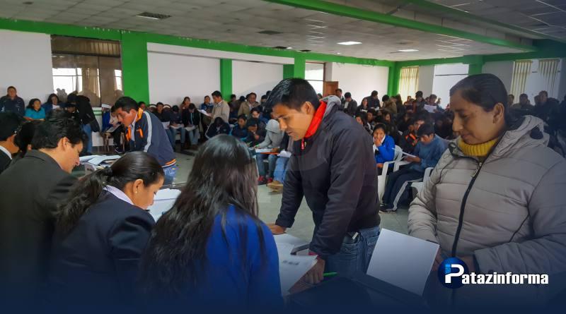 Más de 300 docentes vienen siendo contratados para laborar en IE patacinas