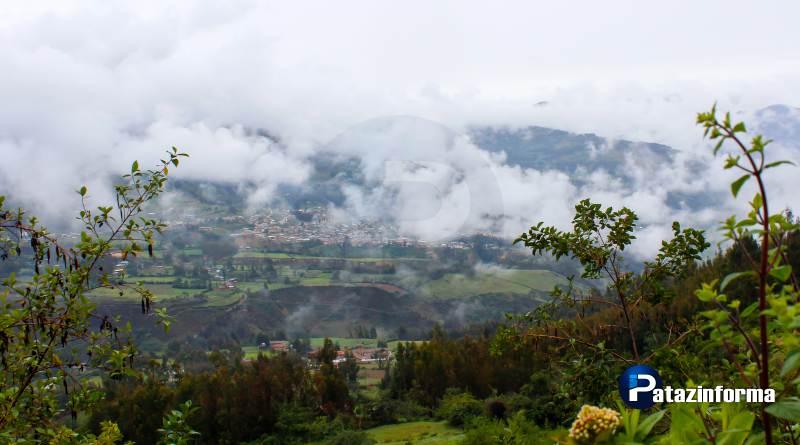 Lluvias, neblina y descenso de Temperatura en la sierra liberteña de Pataz