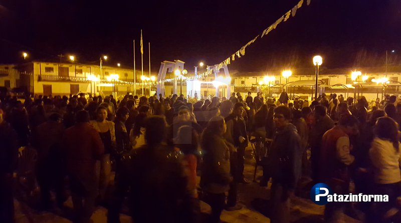 Con ALBAZO, histórico Collay inició su fiesta a la Virgen de la Candelaria