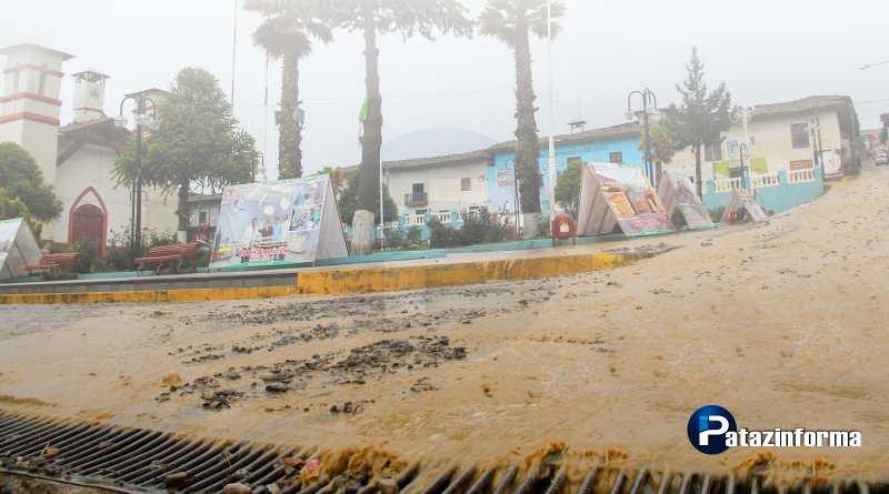 Fuertes lluvias alarmaron a los pobladores de Tayabamba y otros distritos