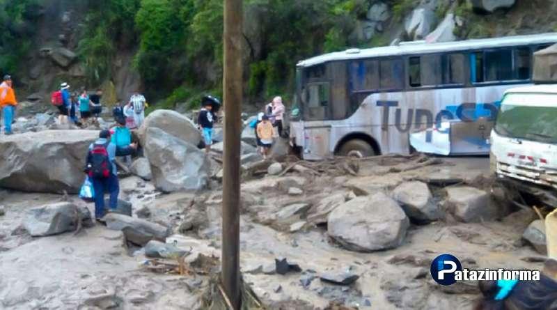 Huaico deja tres muertos y dos desaparecidos en la sierra de La Libertad