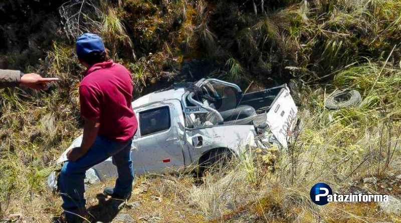 Joven minero en Pataz, muere tras despiste de camioneta por Huamachuco