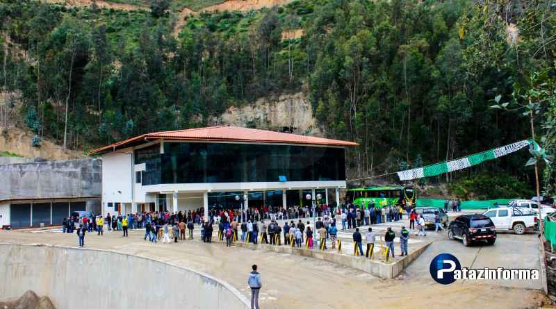 En medio de gran expectativa inauguran el Terrapuerto Tayabamba en Pataz