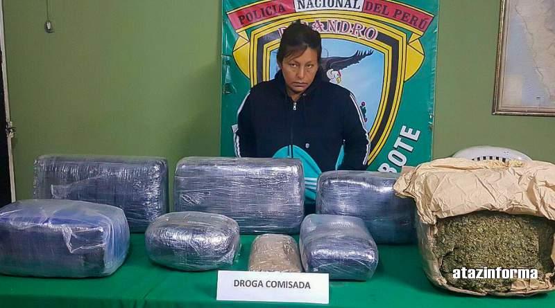 TAURIJA | Mujer cae con 40 kilos de droga en ómnibus San Antonio de Padua