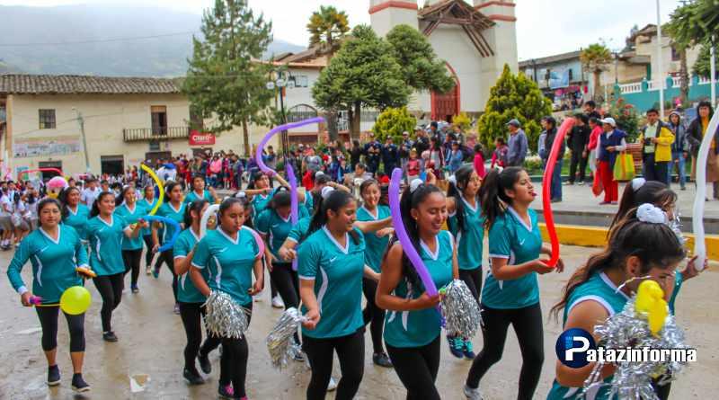 TAYABAMBA: Con olimpiadas deportivas Instituto dio inicio a 35° aniversario