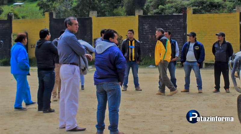 PARCOY | MINSA y PRONIS visitaron terreno para hospital en Llacuabamba