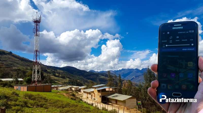 TAYABAMBA: Empresas de Movistar y Bitel inician instalación de Fibra Óptica