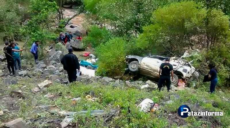 ANCASH | Tres muertos deja despiste de vehículo entre Huarochirí – Sihuas